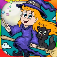Halloween & monsters coloring pages for kids