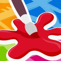 Kids Coloring Book - Learn to paint and draw with different colors and designs!