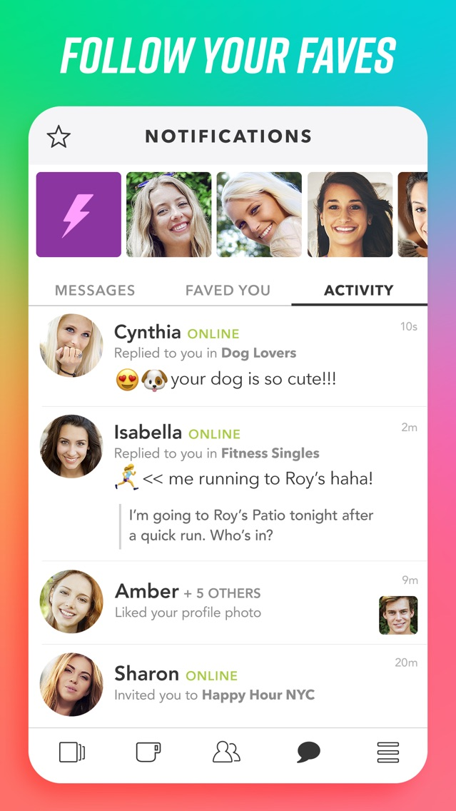 Clover dating app contact