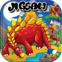 Dinosaur Jigsaw for Preschool Bedtime Activities