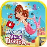 Mermaid Hand Doctor Hospital Little Fantasy Adventure Time - Free Fun Games For Kids & Girls