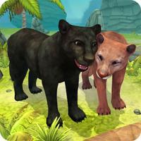 Panther Family Sim - Wild Animal Jungle Pro