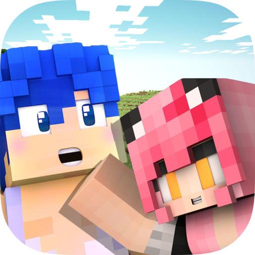 Cute Couple Dante Kawaii Skins For Minecraft Pe App For