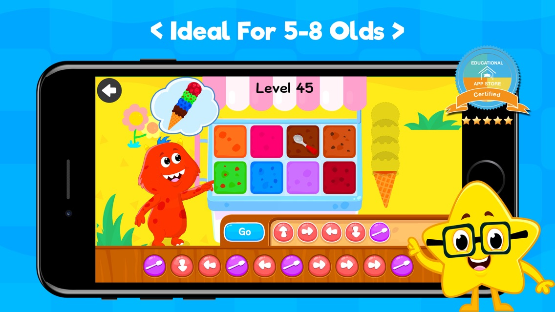 Coding Games For Kids App for iPhone - Free Download Coding