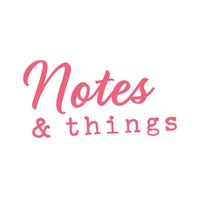 AC Notes & Things Stickers