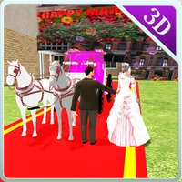 Wedding Horse Carriage & City Bridal Driving