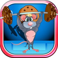 Mouse Body Building Chocolate Cookie Lift Free