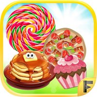 Bakery Food Diner - Bake & Make Cakes Pizza Pancakes & Lollipops - Free Cooking Games For Kids