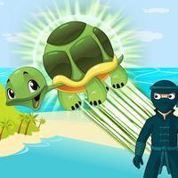 Turtle Jump Vs Ninja isles