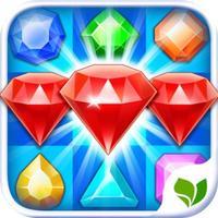 Jewel Quest Mania - 3 match additive puzzle splash crunch game