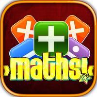 Children Practice Maths Game