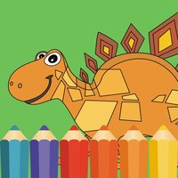 Dinosaur Coloring Book Dino Baby Drawing for Kids