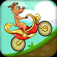 Racing Dirt Deer Bike Race