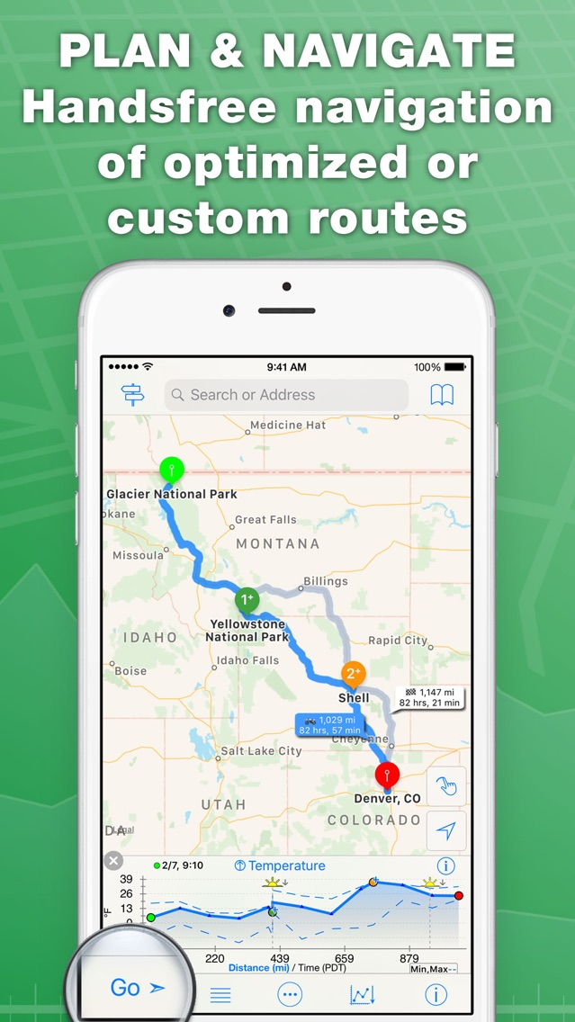 inRoute Route Planner App for iPhone - Free Download inRoute