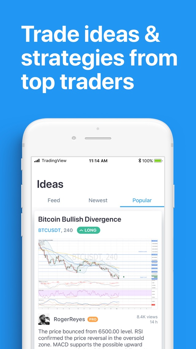 TradingView App for iPhone - Free Download TradingView for