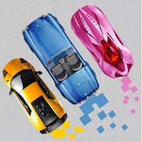 3 Cars Racing