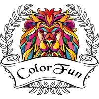 ColorFun - Adult Coloring Book With Editable Text