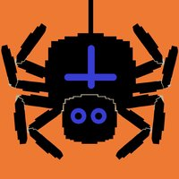 Electronic retro game - Spider