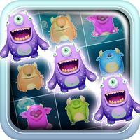 Alien Splash Invaders: Match 3