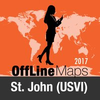 St. John (USVI) Offline Map and Travel Trip Guide