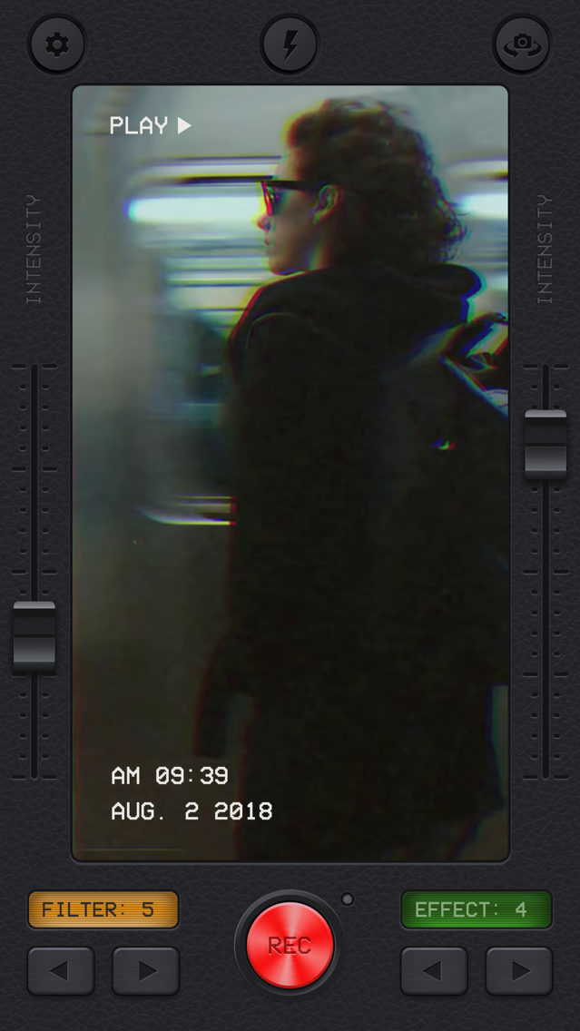 VHS Cam: Vintage Video Filters App for iPhone - Free Download VHS