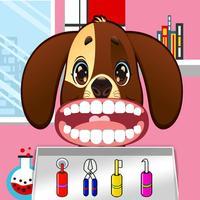 Dog Pet Doctor Dentist Kids Game