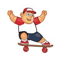 Skateboard Runner 2D