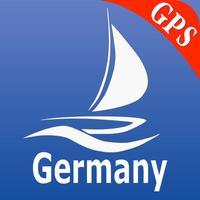 Germany GPS Nautical Charts