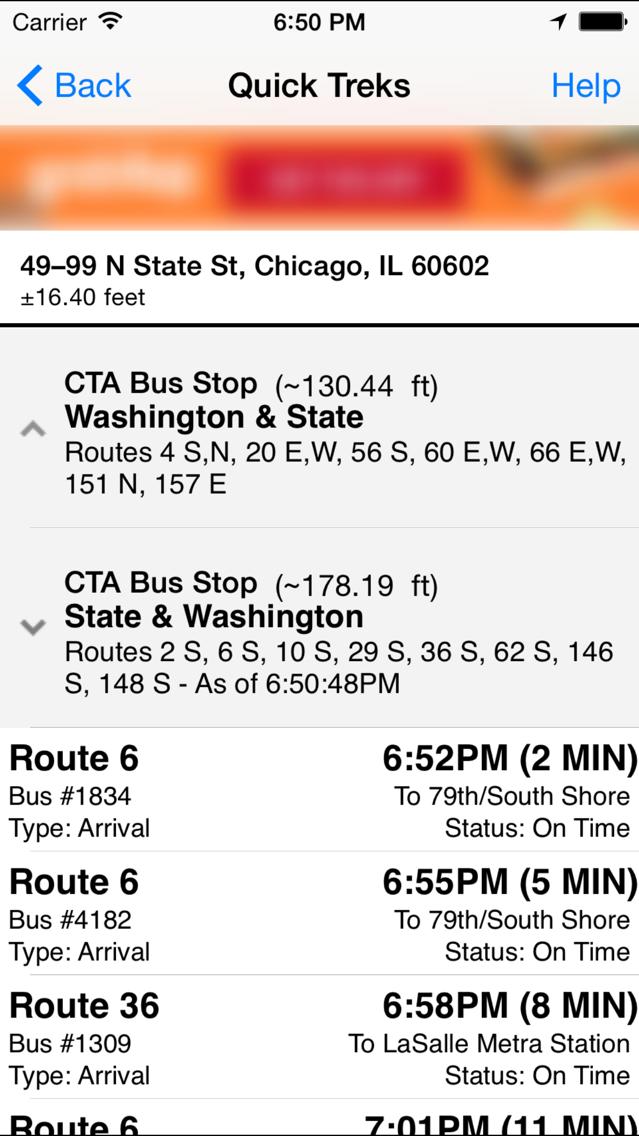 TreKing (Chicago) Lite App for iPhone - Free Download