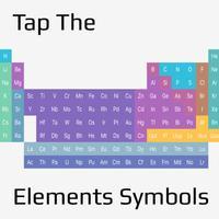 Tap The Elements Symbols ! - Let playing memorize . Element symbol !!
