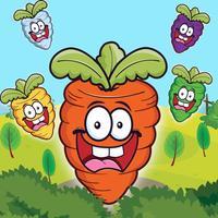 A Lazy Carrot Garden