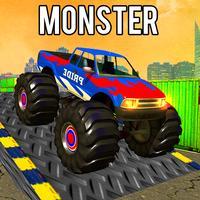 Monster Truck Stunt Drive 3D