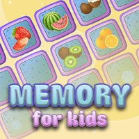Memory for kids: fruit and vegetables