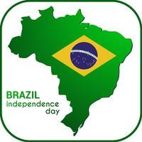 Brazil Independance Day Frame