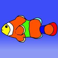 Coloring Book Fish Aquarium