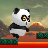 Panda Volcano Escape