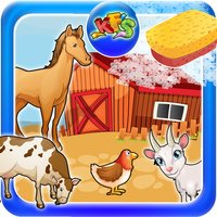 Farm Wash - House clean up and animal care fun for kids
