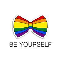 Be Yourself - LGBT Pride Emoji Stickers