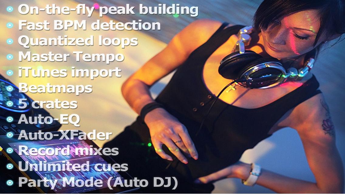 Touch DJ™ Evolution - Visual Mixing, Key Lock, AutoSync App