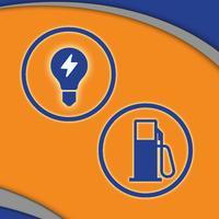 حاسبة الكهرباء و البنزين الجديدة