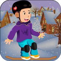 A Snowboarding Frozen Racing Mayhem - Top Racing Games For Girls & Boys FREE