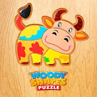 Woody Shapes Puzzle
