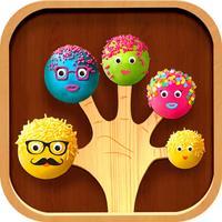 Cake Pop Finger Family Game