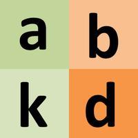 Filipino alphabet for students