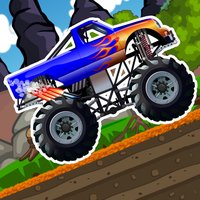 Monster Hill Truck  - car Racing free game