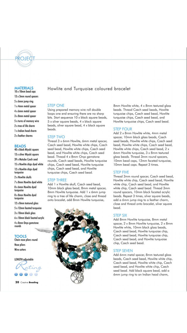 Creative Beading Magazine App for iPhone - Free Download