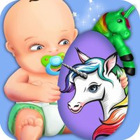 Rainbow Unicorn & Baby Boss Surprise Eggs Puzzle