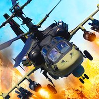 Helicopter Gunship Air Attack