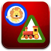 Toddler kids learning with shapes & colors games
