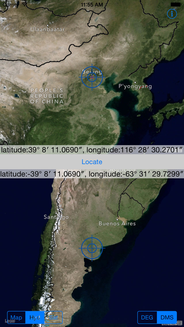 Antipodes - the furthest distance in the earth App for iPhone - Free